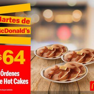 Cupones Martes de McDonald's 22 de Octubre 2019