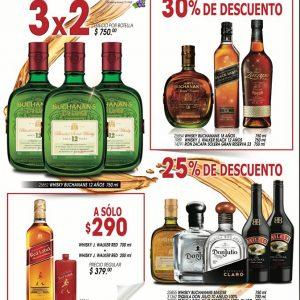 Promociones Buen Whisky Bodegas Alianza: 3×2 en Buchanan's y más al 3 de Noviembre 2019