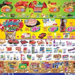 S-Mart: 3 Días de Ofertas en Frutas y Verduras del 15 al 17 de Octubre 2019