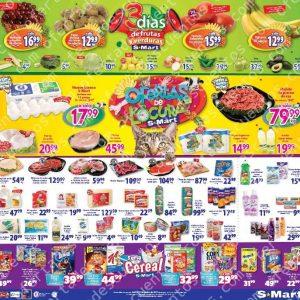 S-Mart: 3 Días de Ofertas en Frutas y Verduras del 8 al 10 de Octubre 2019