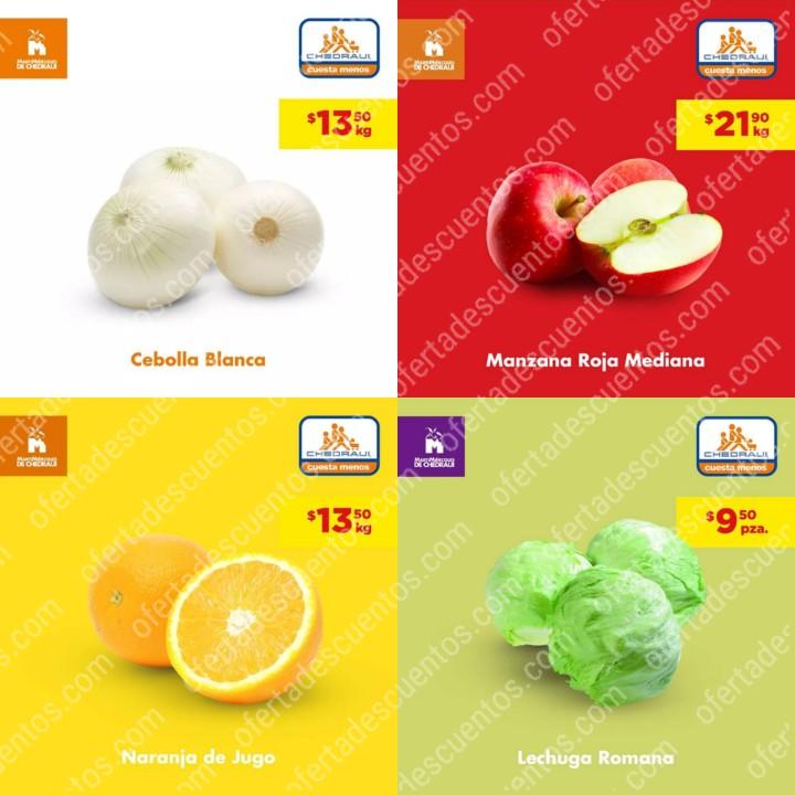 Chedraui: Ofertas MartiMiércoles de Frutas y Verduras Chedraui 19 y 20 de Noviembre 2019