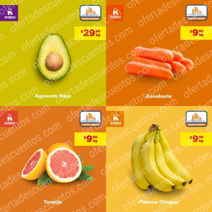 Chedraui: Ofertas MartiMiércoles de Frutas y Verduras 26 y 27 de Noviembre 2019