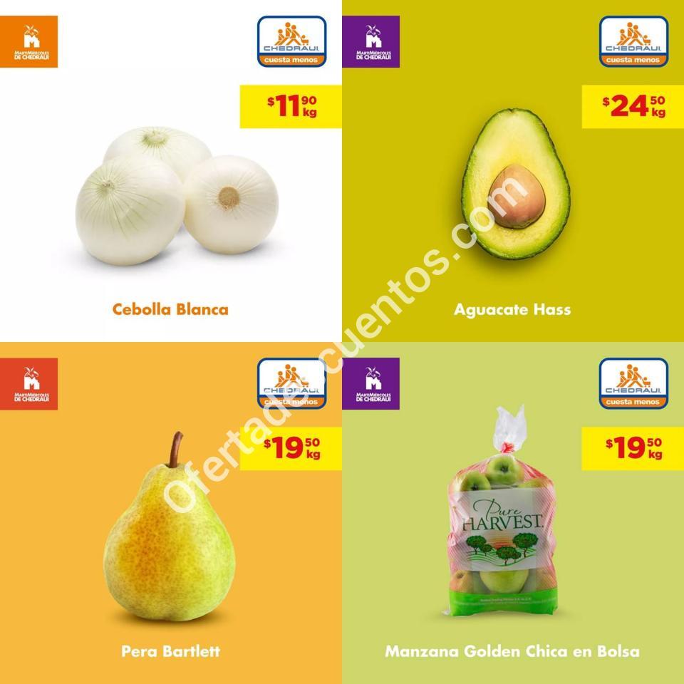 Chedraui: Ofertas MartiMiércoles de Frutas y Verduras 5 y 6 de Noviembre 2019