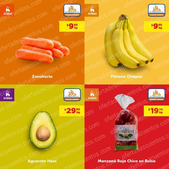 Chedraui: Ofertas MartiMiércoles de Frutas y Verduras 12 y 13 de Noviembre 2019
