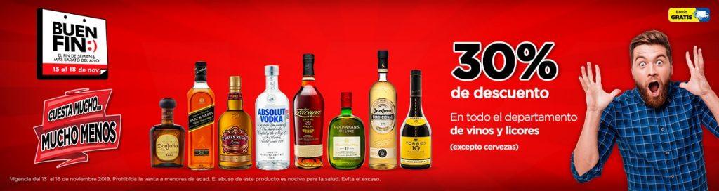 Buen Fin 2019 Chedraui: Whisky Johnnie Walkaer Green Label 15 años $645, Buchanan's Deluxe 1L $507 y más