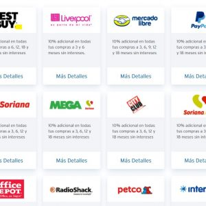 El Buen Fin 2019 Citibanamex: Tiendas Participantes con el 10% de Bonificación Adicional