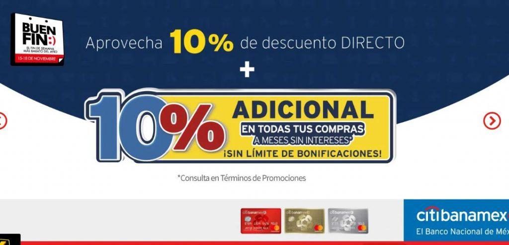 Buen Fin 2019 Elektra: 10% de Descuento Directo, Cupón de $500 adicional y más