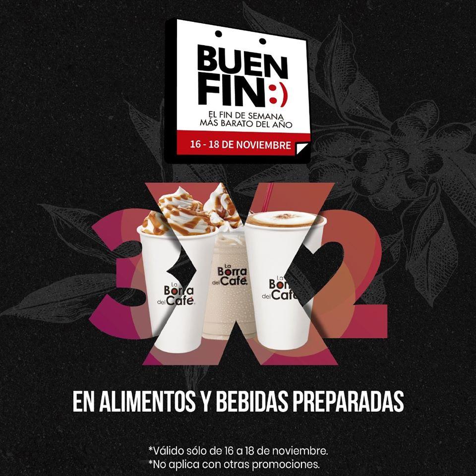 Promociones El Buen Fin 2019 La Borra del Café