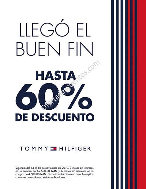 Promociones El Buen Fin 2019 en Tommy Hilfiger