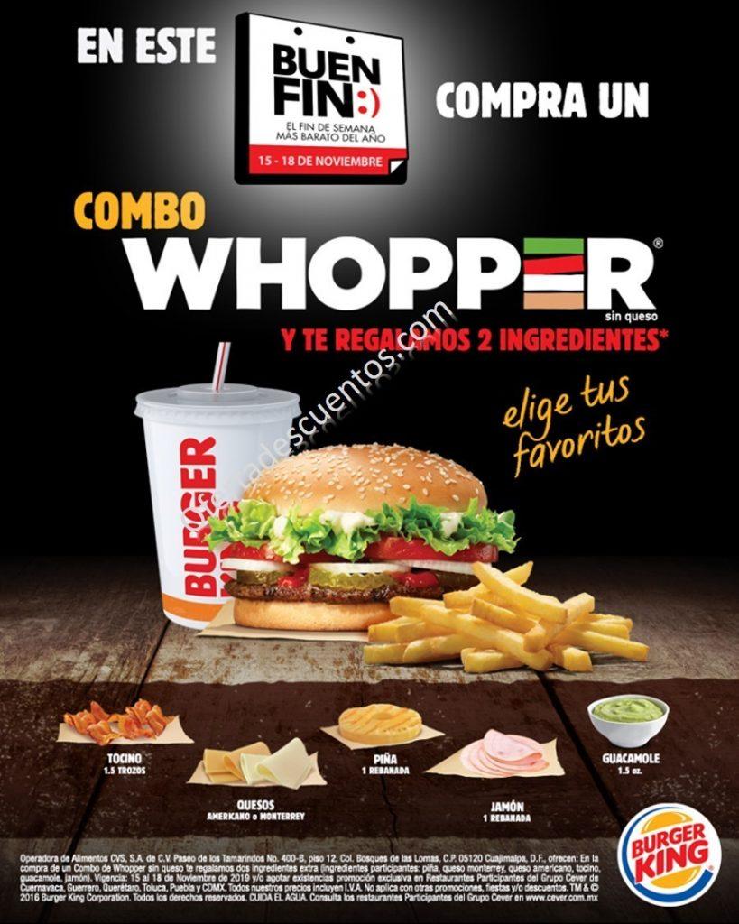 El Buen Fin 2019 en Burger King