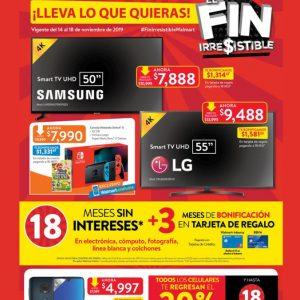 Folleto Buen Fin 2019 Walmart