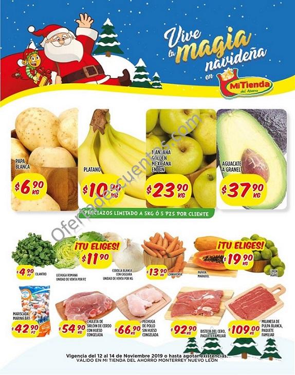 Mi Tienda del Ahorro: Ofertas en Frutas y Verduras del 12 al 14 de Noviembre 2019