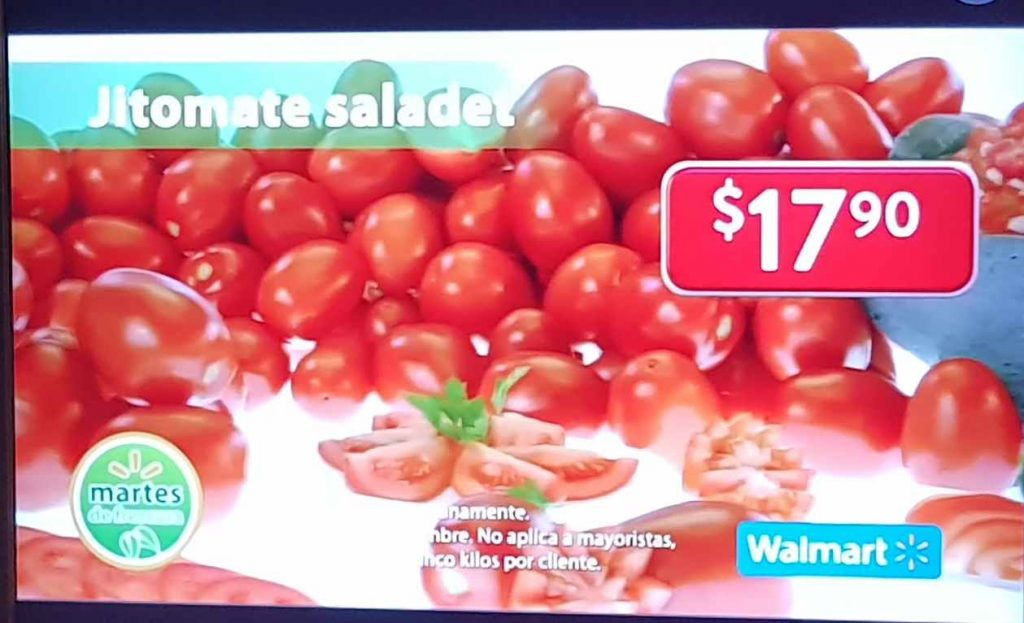 Ofertas Martes de Frescura Walmart 26 de Noviembre 2019