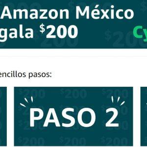 Cyber Monday Amazon 2019: $200 de descuento en Compras de $600 o más