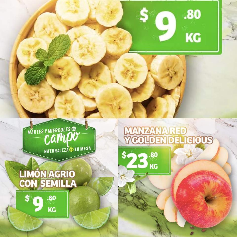 Soriana: Ofertas Frutas y Verduras Martes y Miércoles del Campo 19 y 20 de Noviembre 2019