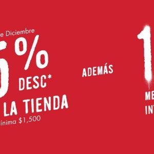 C&A: 15% de descuento en toda la tienda 23 y 24 de Diciembre 2019