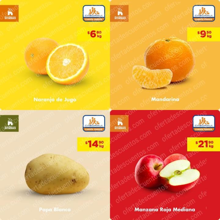 Chedraui: Ofertas MartiMiércoles de Frutas y Verduras 10 y 11 de Diciembre 2019