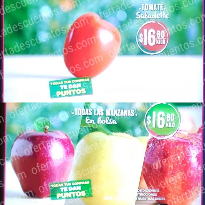 Soriana: Ofertas Frutas y Verduras Martes y Miércoles del Campo 3 y 4 de Diciembre 2019