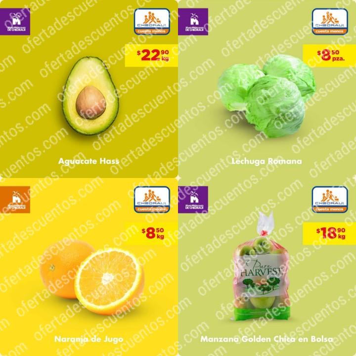 Chedraui: Ofertas MartiMiércoles de Frutas y Verduras 14 y 15 de Enero 2020