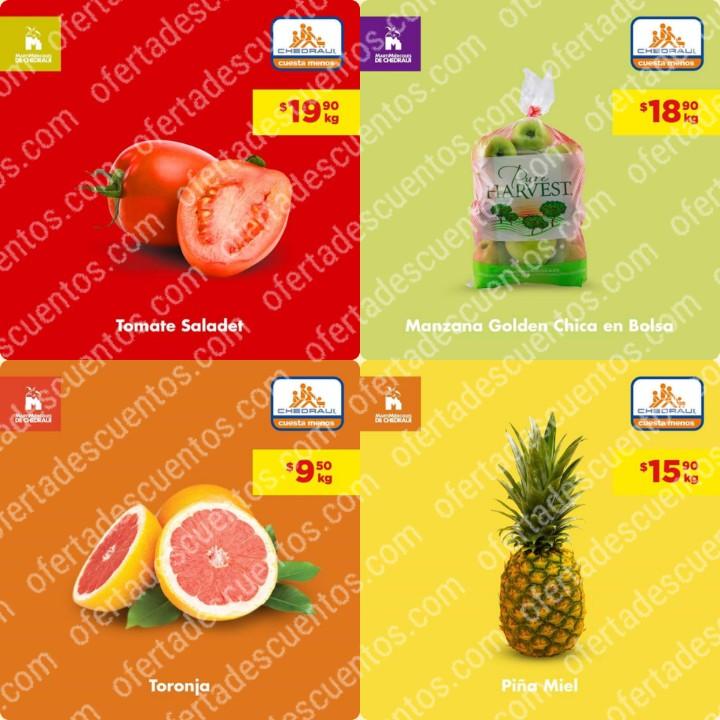 Chedraui: Ofertas MartiMiércoles de Frutas y Verduras 28 y 29 de Enero 2020