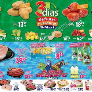 S-Mart: 3 Días de Ofertas en Frutas y Verduras del 28 al 30 de Enero 2020
