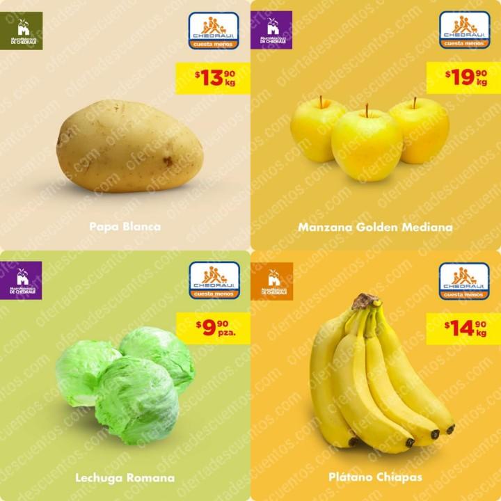 Chedraui: Ofertas MartiMiércoles de Frutas y Verduras 11 y 12 de Febrero 2020