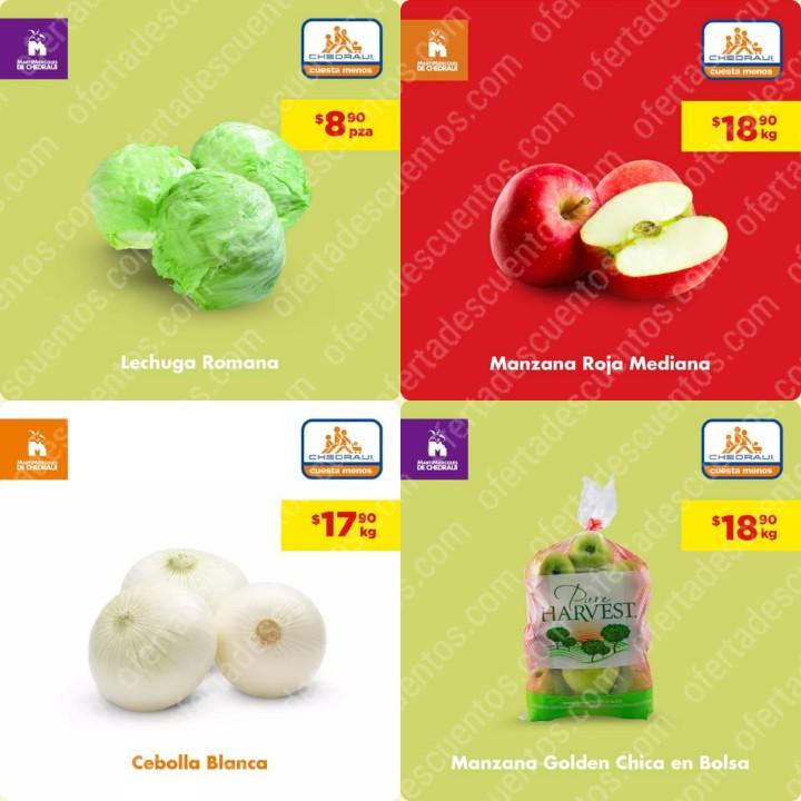 Chedraui: Ofertas MartiMiércoles de Frutas y Verduras 25 y 26 de Febrero 2020