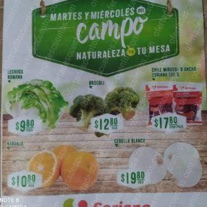 Soriana: Ofertas Frutas y Verduras Martes y Miércoles Del Campo 31 de Marzo y 1 de Abril 2020
