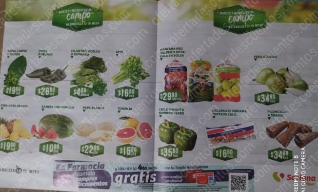 Soriana: Ofertas Frutas y Verduras Martes y Miércoles del Campo 10 y 11 de Marzo 2020