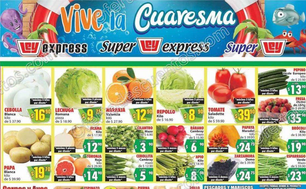 Casa Ley: Ofertas en Frutas y Verduras 3 y 4 de Marzo 2020