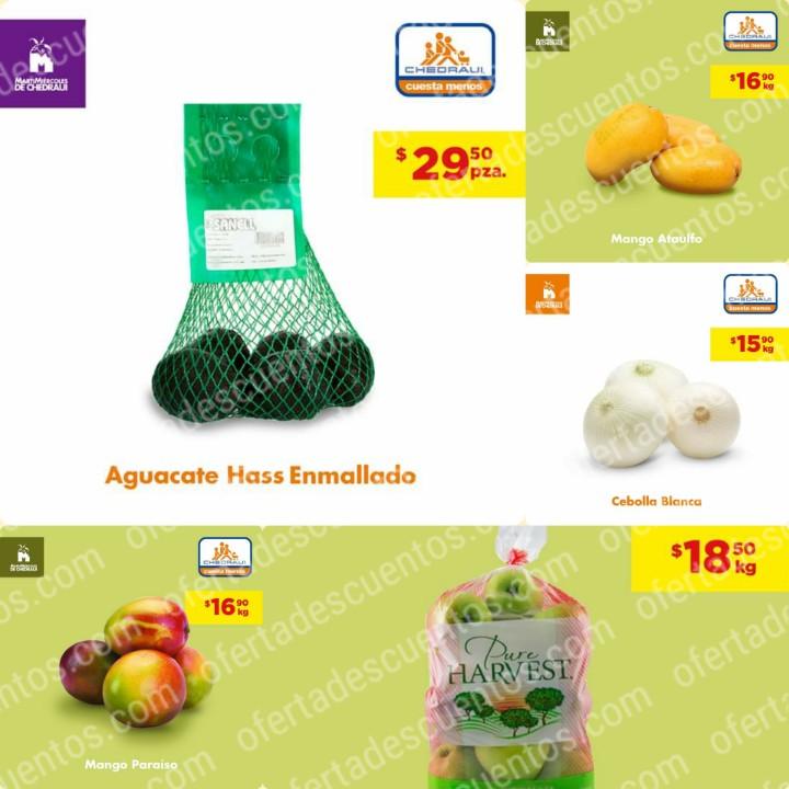 Chedraui: Ofertas MartiMiércoles de Frutas y Verduras 24 y 25 de Marzo 2020