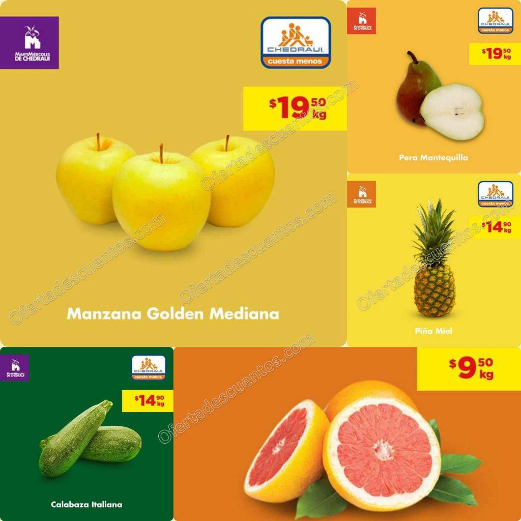 Chedraui: Ofertas MartiMiércoles de Frutas y Verduras 3 y 4 de Marzo 2020