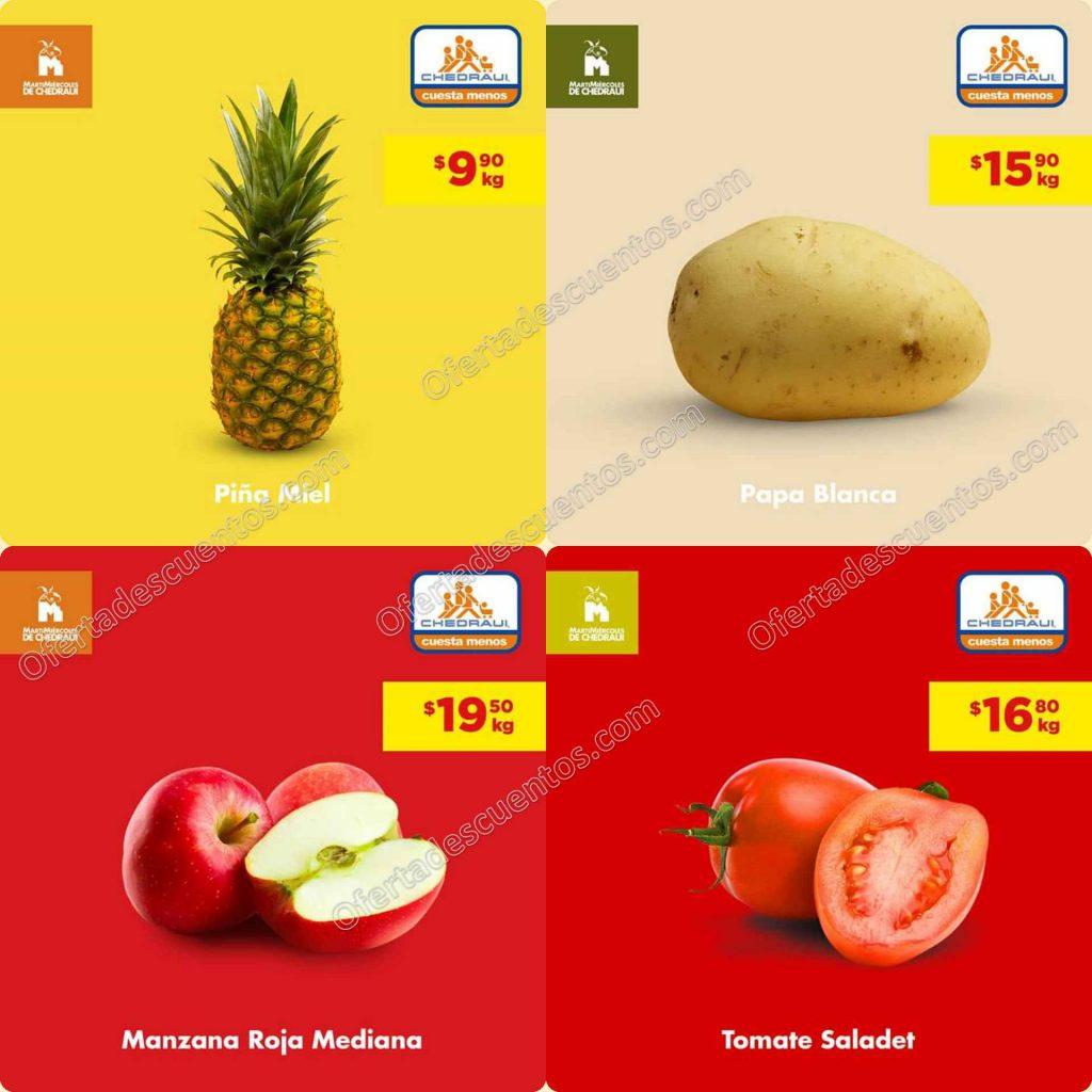 Chedraui: Ofertas MartiMiércoles de Frutas y Verduras 10 y 11 de Marzo 2020