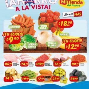 Mi Tienda del Ahorro: Ofertas en Frutas y Verduras del 24 al 26 de Marzo de 2020