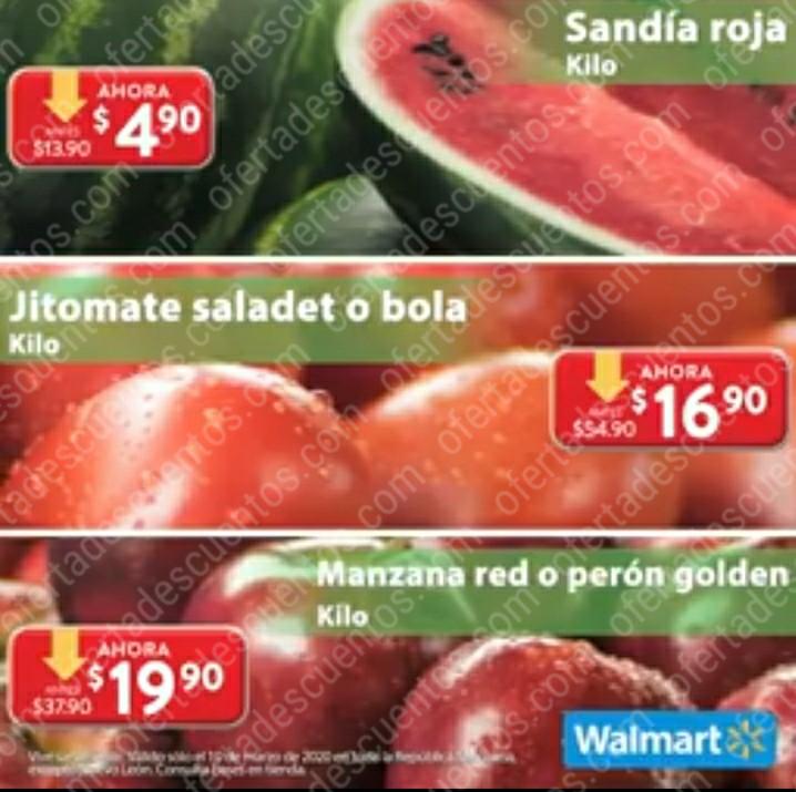 Ofertas Martes de Frescura Walmart 10 de Marzo 2020