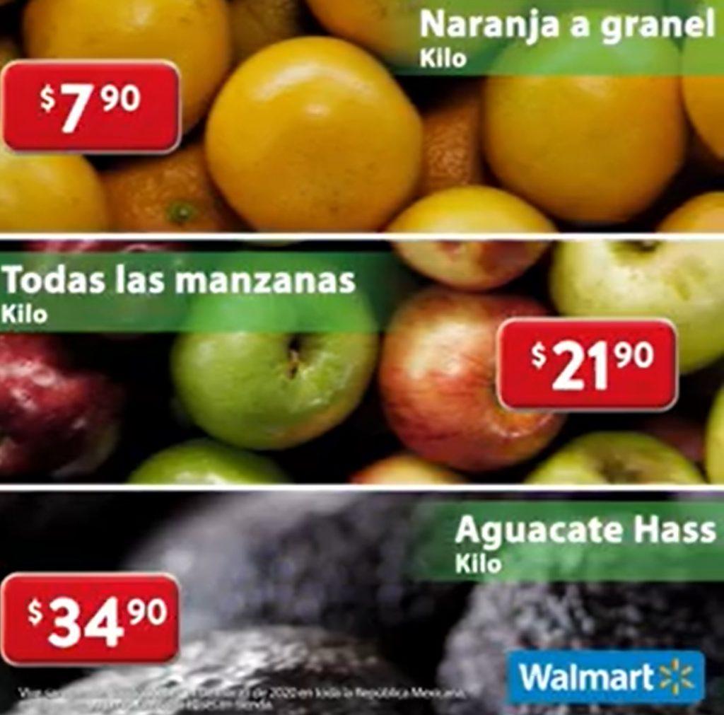 Ofertas Martes de Frescura Walmart 24 de Marzo 2020