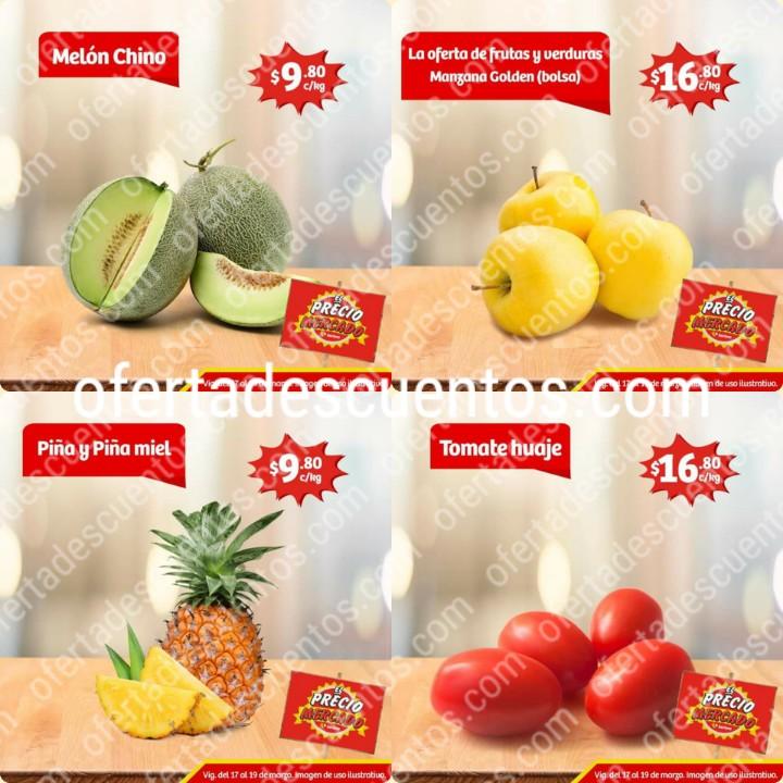Soriana Mercado: Ofertas en Frutas y Verduras del 17 al 19 de Marzo 2020