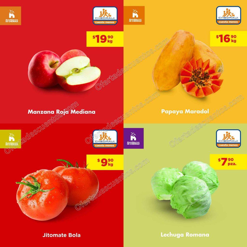 Chedraui: Ofertas Frutas y Verduras 21 y 22 de Abril 2020