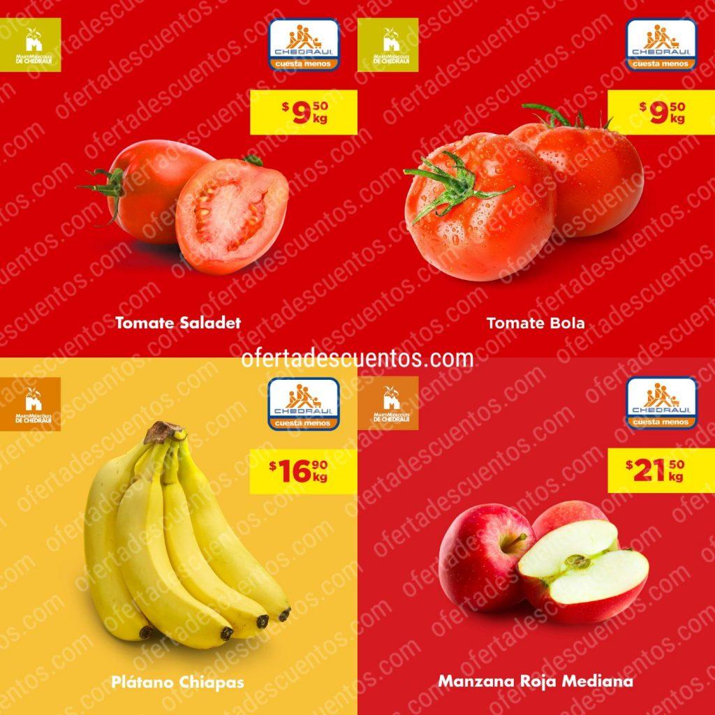 Chedraui: Ofertas Frutas y Verduras 14 y 15 de Abril 2020