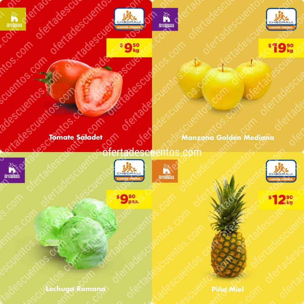 Chedraui: Ofertas Frutas y Verduras 7 y 8 de Abril 2020