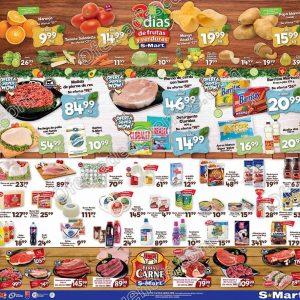 S-Mart: Ofertas Frutas y Verduras del 14 al 16 de Abril 2020