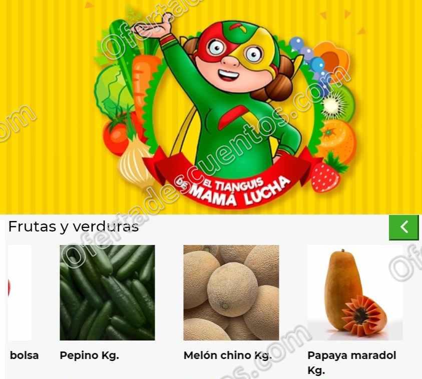 Bodega Aurrerá: Ofertas Frutas y Verduras del 5 al 7 de Mayo 2020