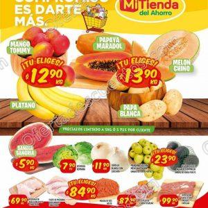 Ofertas Frutas y Verduras Mi Tienda del Ahorro del 5 al 7 de Mayo 2020