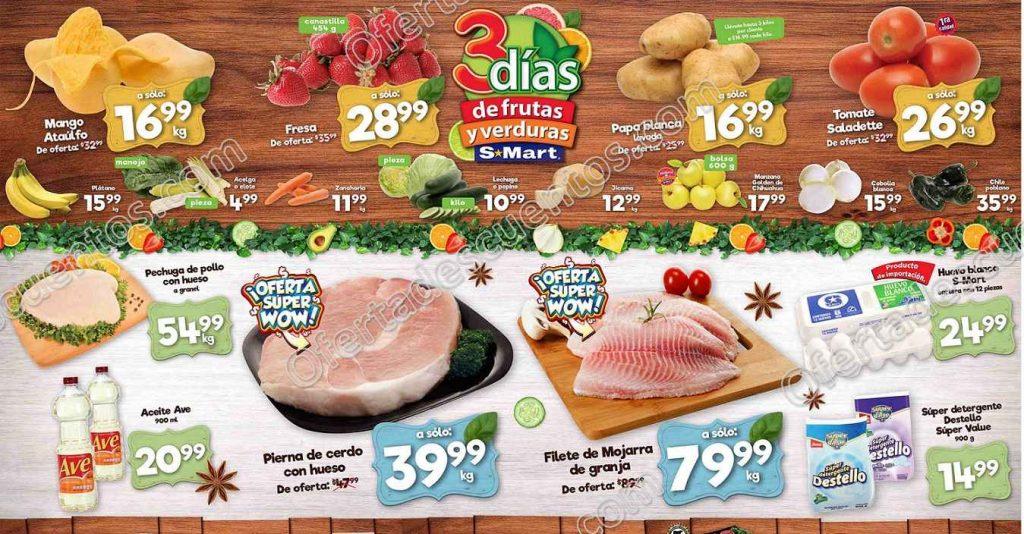 Ofertas Frutas y Verduras S-Mart del 5 al 7 de Mayo 2020