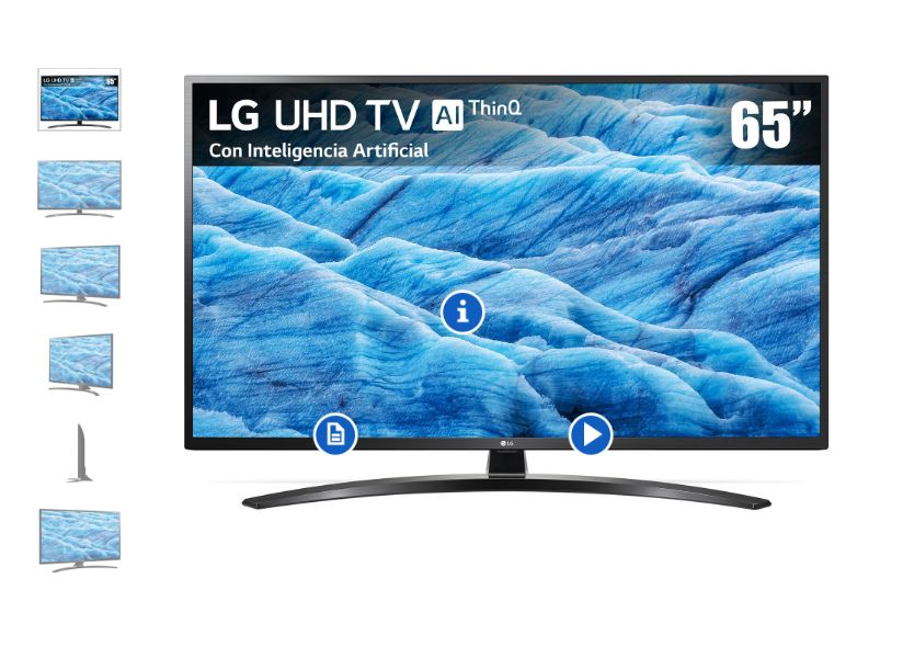 Liverpool: Pantalla LG 65″ 4K UHD $13,999