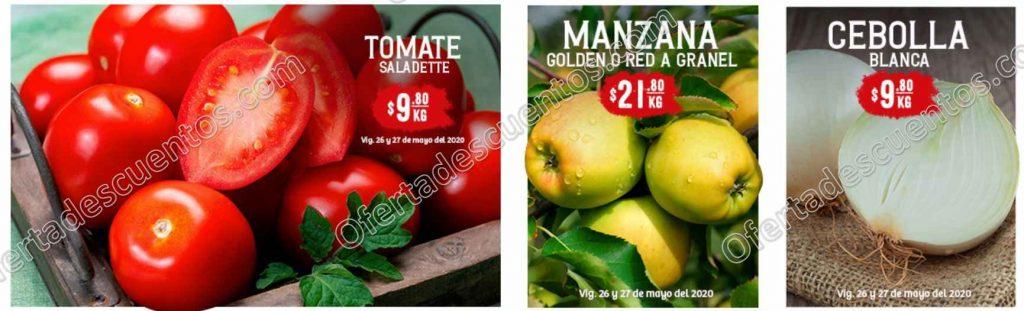 Soriana: Ofertas Frutas y Verduras 26 y 27 de Mayo 2020
