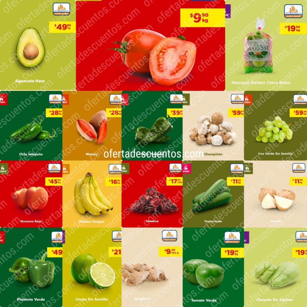 Chedraui: Ofertas Frutas y Verduras 16 y 17 de Junio 2020