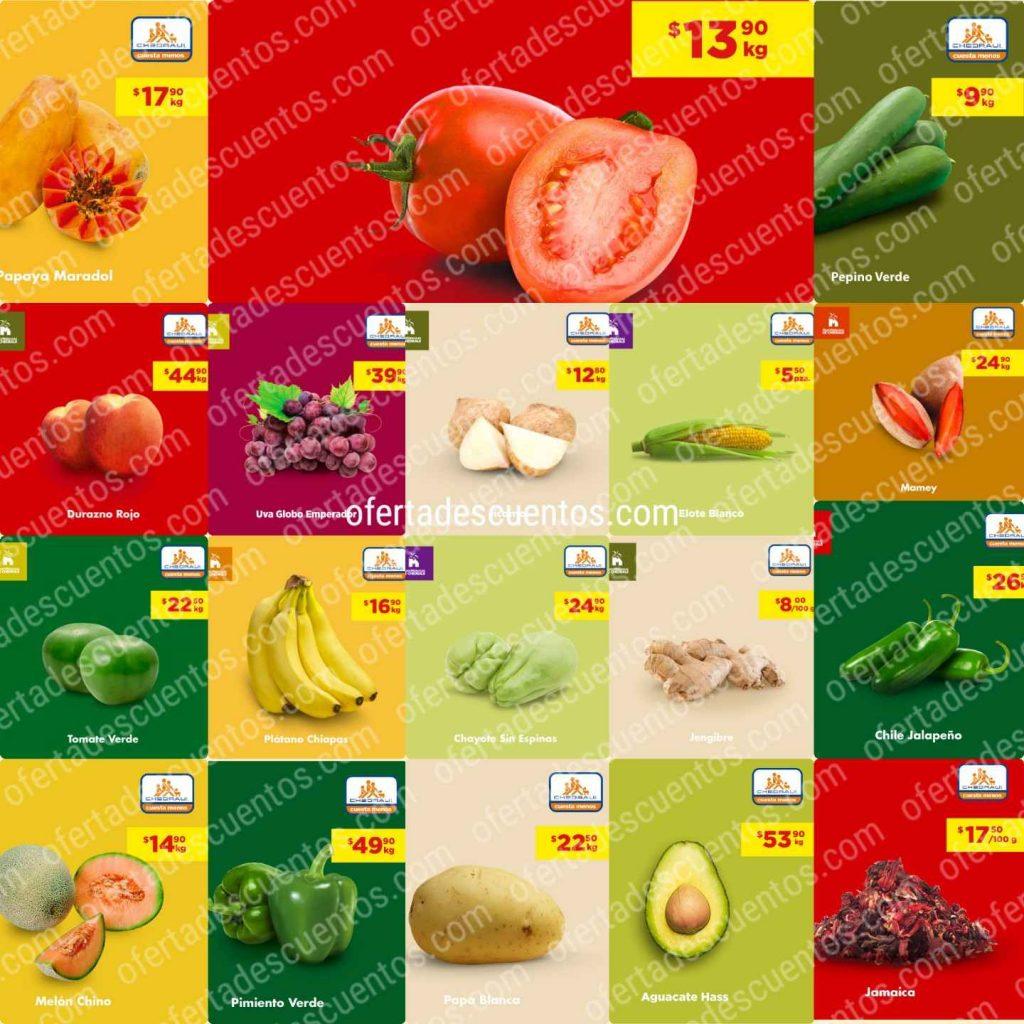 Chedraui: Ofertas Frutas y Verduras 9 y 10 de Junio 2020