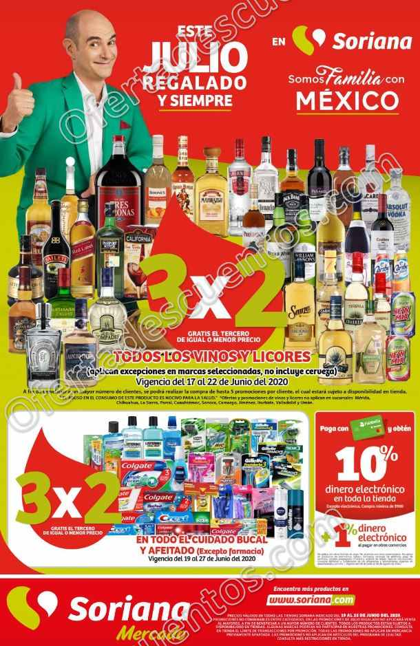 Folleto de Ofertas Julio Regalado 2020 Soriana Mercado del 19 al 25 de Junio