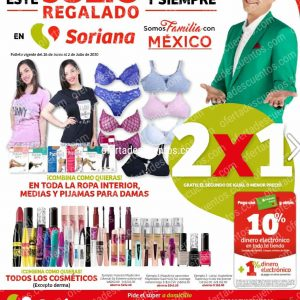 Folleto Ofertas Julio Regalado 2020 Soriana Hiper del 26 de Junio al 2 de Julio